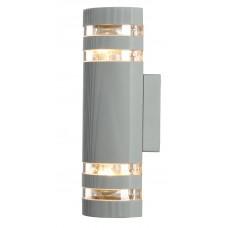 Уличный настенный светильник Arte Lamp A8162AL-2GY серый