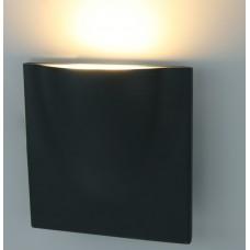 Светильник уличный светодиодный Arte Lamp A8512AL-1GY серый 12 Вт 3000K