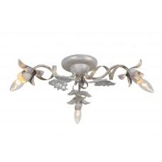 Потолочная люстра Arte Lamp A8626PL-3WG бело-золотой