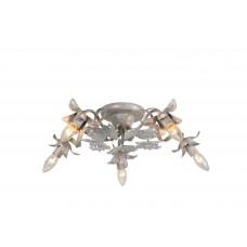 Потолочная люстра Arte Lamp A8626PL-5WG бело-золотой