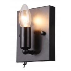 Бра лофт Arte Lamp A8811AP-1BK черный