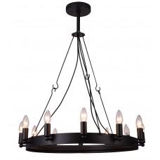Люстра лофт Arte Lamp A8811SP-12BK черный