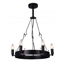 Люстра лофт Arte Lamp A8811SP-6BK черный