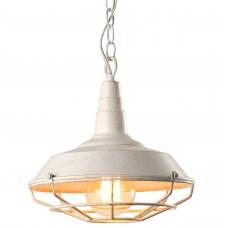 Люстра лофт Arte Lamp A9181SP-1WG бело-золотой