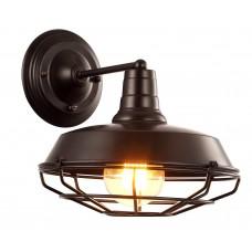 Бра в стиле Лофт Arte Lamp A9183AP-1BK черный