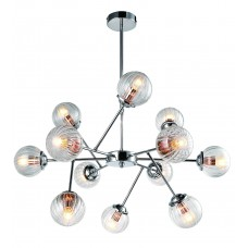 Потолочная люстра Arte Lamp A9276LM-12CC хром