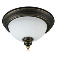 Светильник потолочный Arte Lamp A9518PL-2BA античный черный