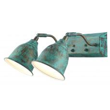 Спот Arte Lamp A9557AP-2BG старая медь
