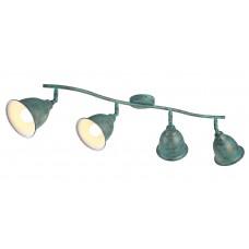 Спот Arte Lamp A9557PL-4BG старая медь