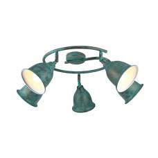 Спот Arte Lamp A9557PL-5BG старая медь