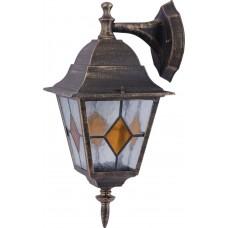 Уличный настенный светильник Arte Lamp Berlin A1012AL-1BN