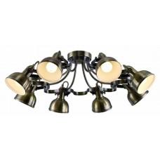 Потолочная люстра Arte Lamp A5216PL-8AB