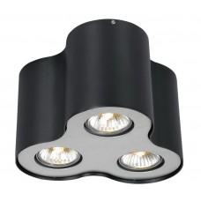 Встраиваемый светильник Arte Lamp A5633PL-3BK