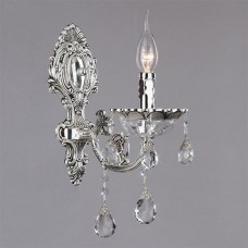 Хрустальное бра Bogates 230/1 серебро