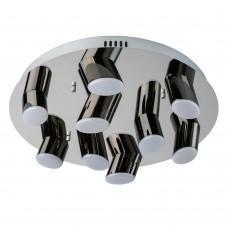 Потолочный светодиодный светильник Regenbogen Life 609013809 Фленсбург 36 Вт 3200К Хром
