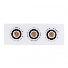 """Встраиваемый светильник """"кардан"""" Mw-Light 637016003 Круз 21 Вт 3000К белый"""