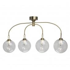 Люстра светодиодная в стиле Лофт Regenbogen Life 657011704 Крайс 20 Вт 3000К Античная бронза