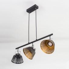 Подвесной светодиодный светильник Citilux CL508132 Орегон 21 Вт 3000K Черный + Золото
