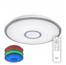 Управляемый светодиодный светильник Citilux CL70360RGB Старлайт 60 Вт 3000-4500K Хром