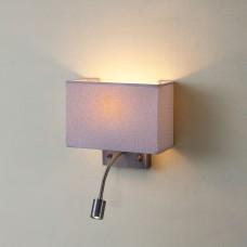 Бра с выключателем и лампой для чтения 3Вт 3000K Citilux CL704303 Декарт Бронза Старая
