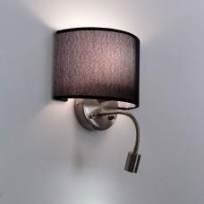 Бра с выключателем и лампой для чтения 3Вт 3000K Citilux CL704305 Декарт Хром Мат. + Черный