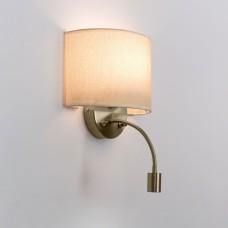 Бра с выключателем и лампой для чтения 3Вт 3000K Citilux CL704306 Декарт Старая Бронза + Песочный