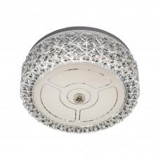 Потолочный светодиодный светильник Citilux CL705101 Кристалино 12 Вт 3000K Белый + Прозрачный
