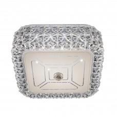 Потолочный светодиодный светильник Citilux CL705201 Кристалино 12 Вт 3000K Белый + Прозрачный