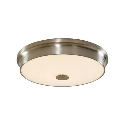 Потолочный светодиодный светильник Citilux CL706231 Фостер-2 30 Вт 3000K Хром Матовый