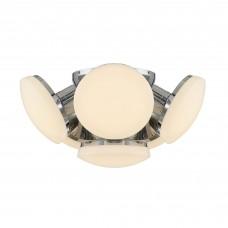 Потолочная светодиодная люстра Citilux CL716161Wz Тамбо 72 Вт 3000K Хром