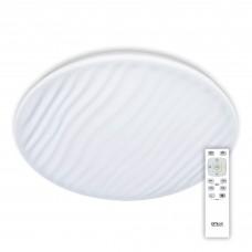 Потолочный светодиодный светильник с пультом Citilux CL72080RC Дюна 80 Вт 3000-4500K Белый