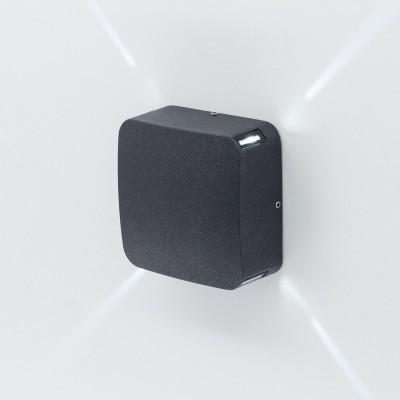 Уличный настенный светильник Citilux CLU0006X 4 Вт 4000K Черный