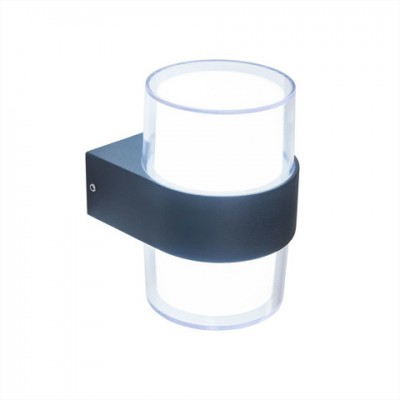 Уличный настенный светильник Citilux CLU0009R 12 Вт 4000K Черный