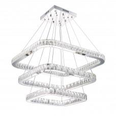 Подвесная светодиодная люстра Citilux EL336P100 Granda 200 Вт 3000-5500K Хром