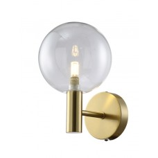 Бра Crystal Lux ANDRES AP1 BRONZE/TRANSPARENTE G9 1*7W LED Бронза
