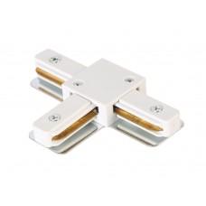 Соединитель T-образный (однофазный) Crystal Lux CLT 0.211 08 WH Белый