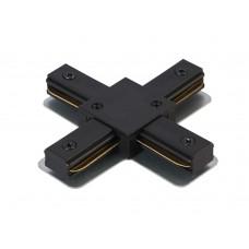 Соединитель X-образный (однофазный) Crystal Lux CLT 0.211 09 BL Черный