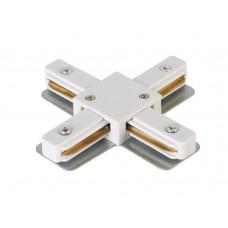 Соединитель X-образный (однофазный) Crystal Lux CLT 0.211 09 WH Белый