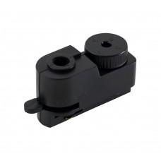 Адаптер для однофазного шинопровода Crystal Lux CLT 0.212 01 BL Черный