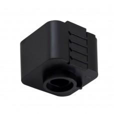 Адаптер для однофазного шинопровода Crystal Lux CLT 0.212 03 BL Черный