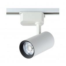 Cветильник трековый однофазный Crystal Lux CLT 0.31 006 20W WH LED Белый