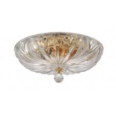 Люстра потолочная Crystal Lux DENIS D400 GOLD G9 4*40W Золотой