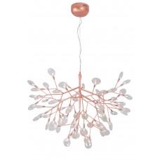 Светильник подвесной Crystal Lux EVITA SP63 COPPER/TRANSPARENT