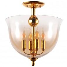 Люстра лофт Crystal Lux ATLAS PL4 GOLD золотой