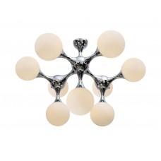 Потолочная люстра Crystal Lux BOLLA PL9 хром
