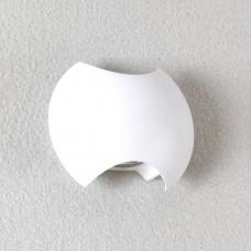 Настенный светодиодный светильник Crystal Lux 3W 3000K CLT 016W140 WH Белый