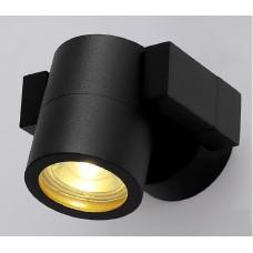 Уличный настенный светильник Crystal Lux CLT 020CW BL черный