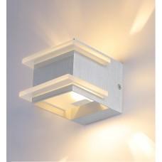 Настенный светодиодный светильник Crystal Lux CLT 421W AL алюминий