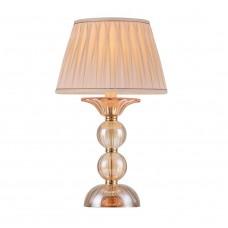 Настольная лампа Crystal Lux DREAM LG1 золотой/янтарный