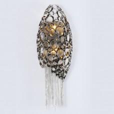 Хрустальное бра Crystal Lux FASHION AP2 никель